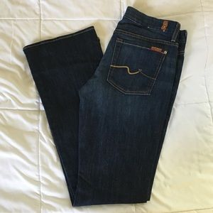 NWOT 7 For All Mankind Kimmie Bootcut 31